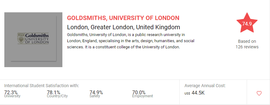 best universities in the UK for online study for international students