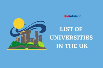 List of universities in The UK