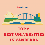 Top 2 best universities in Canberra