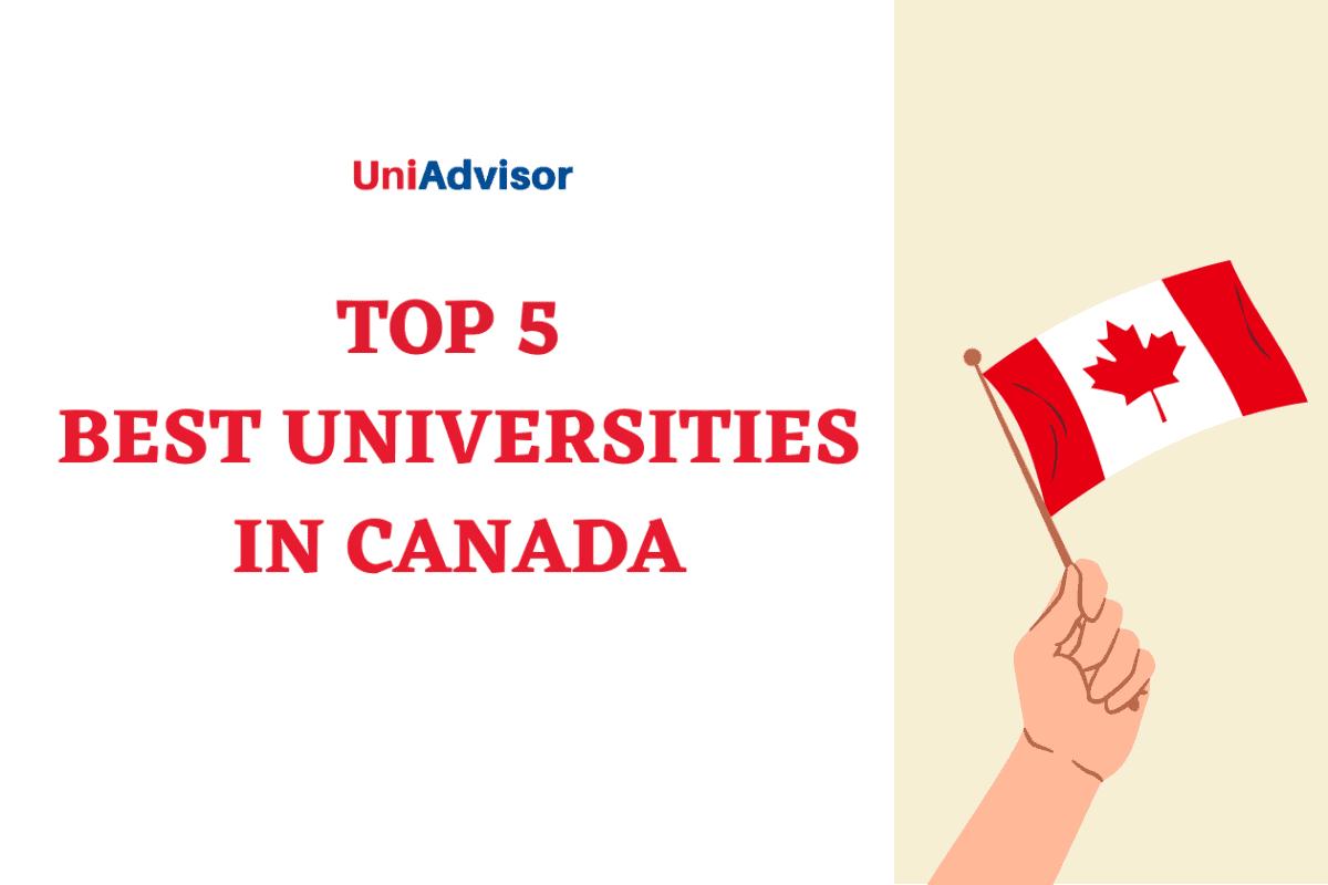 Top 5 best universities in Canada